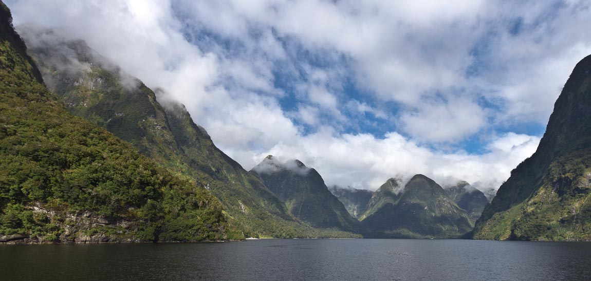 Crooked Arm, Doubtful Sound, New Zealand
