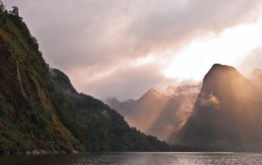 Hall Arm, Doubtful Sound, Fiordland, New Zealand