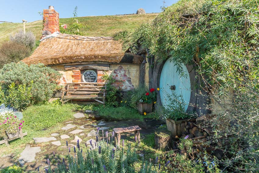 Hobbiton,  Alexander farm, New Zealand