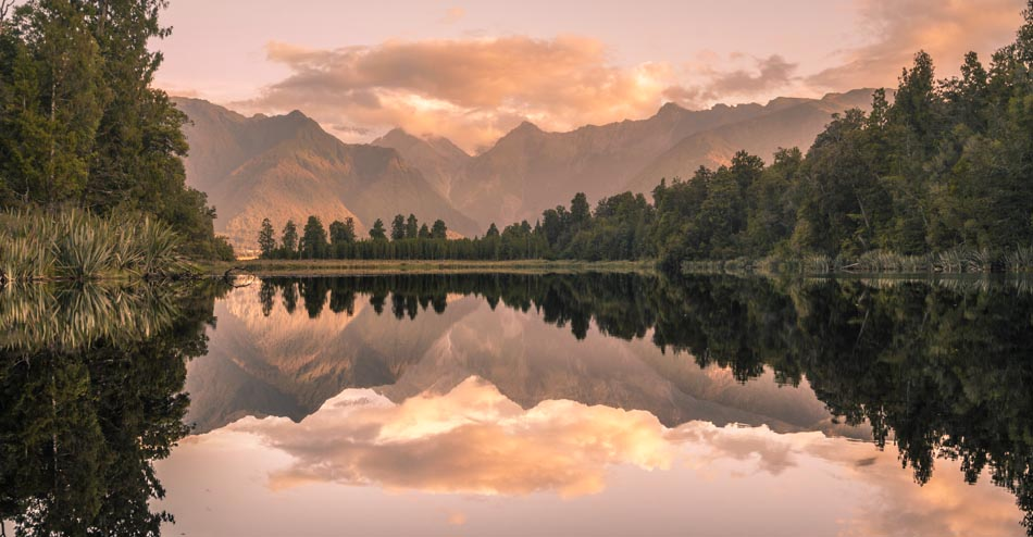 Lake Matheson, West Coast, New Zealand