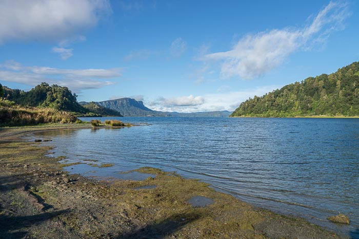 Lake Waikaremoana, Te Urewera National Park, New Zealand