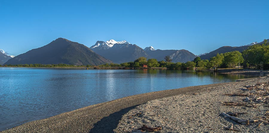 Lake Wakatipu, Glenorchy, New Zealand