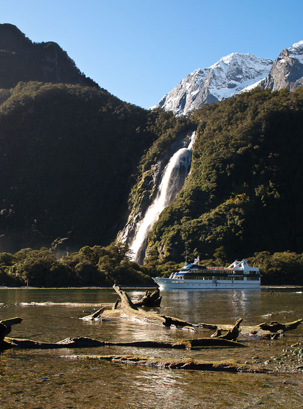 Lady Bowen Falls, Milford Sound, New Zealand