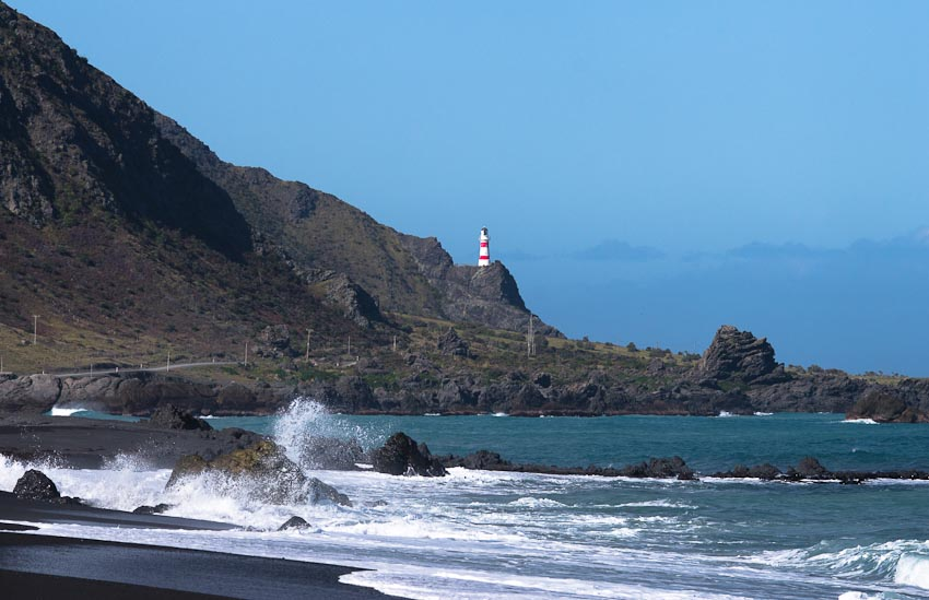 Cape Palliser Lighthouse Wairarapa New Zealand New