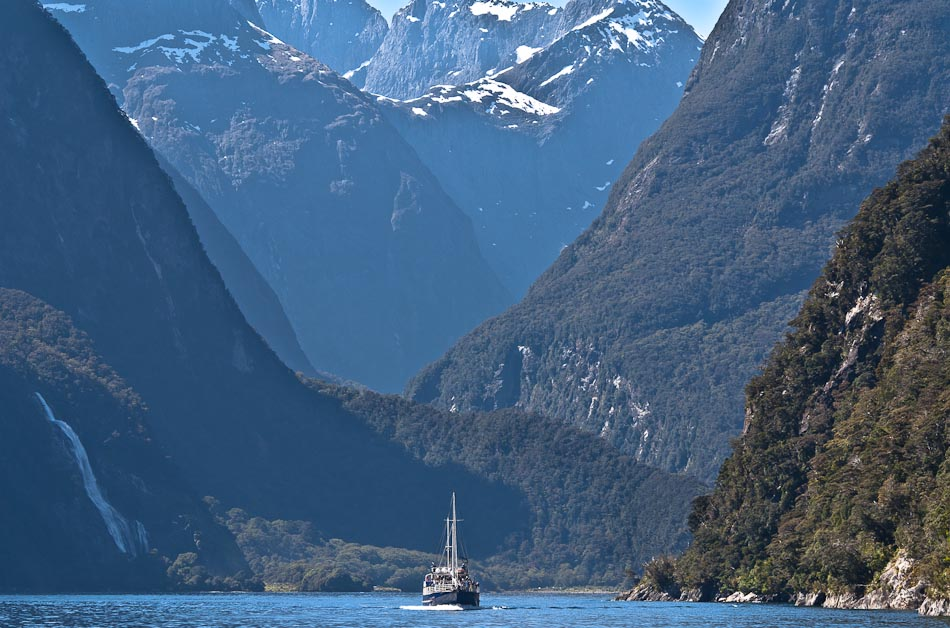 Dramatic Milford Sound, Fiordland, New Zealand