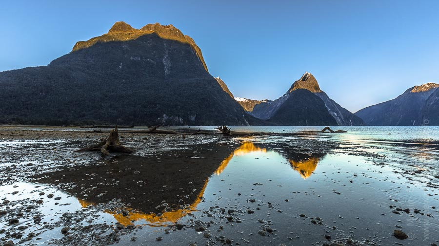 Milford Sound Reflection, Fiordland, New Zealand