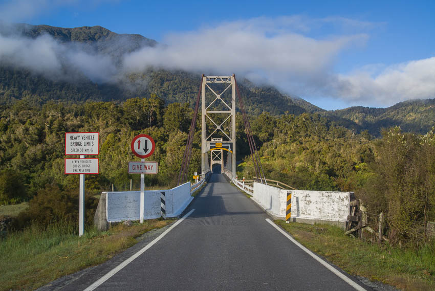 Karangarua River Bridge, Haast Highway, West Coast