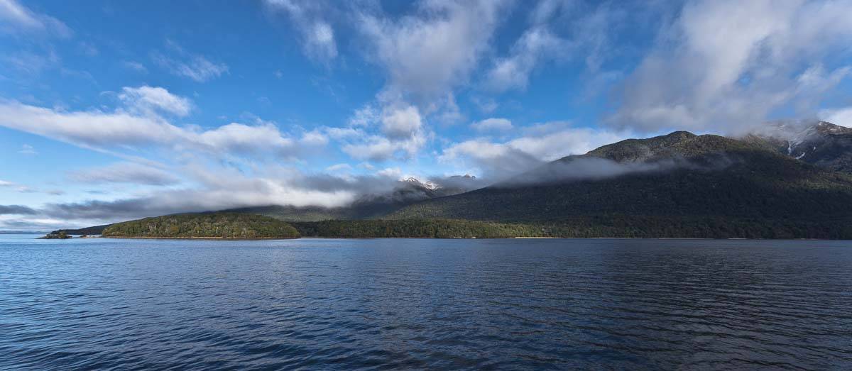 Murchison Mountains, Lake Te Anau, Fiordland, New Zealand