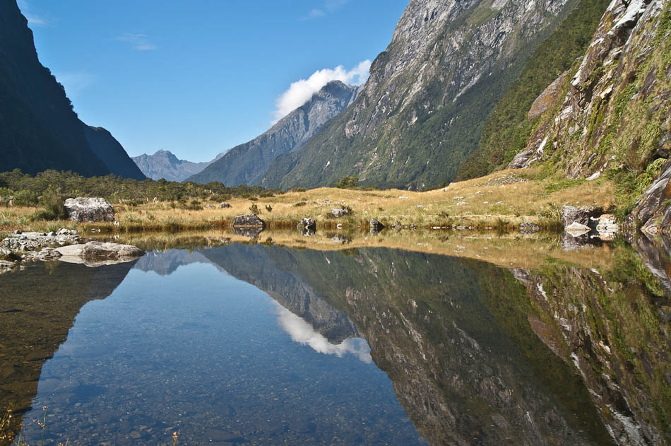 Prairie Lake, Milford Track, Fiordland, New Zealand