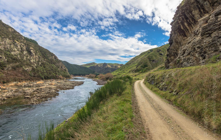 Lower Beaumont Gorge, Clutha River, Otago, New Zealand