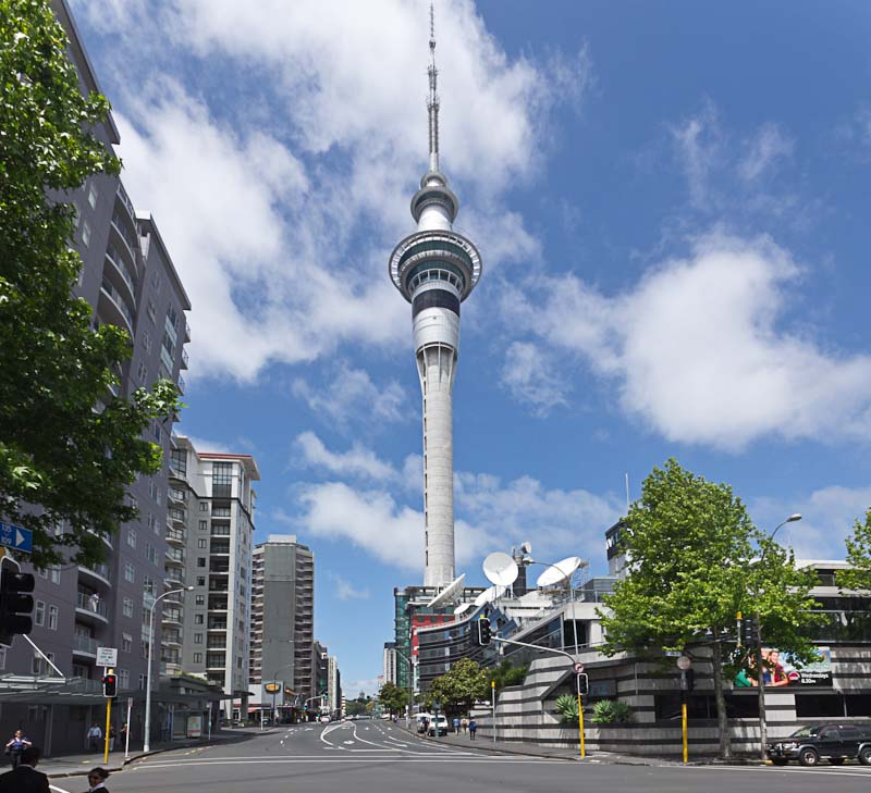 Sky Tower Height Sky Tower Auckland