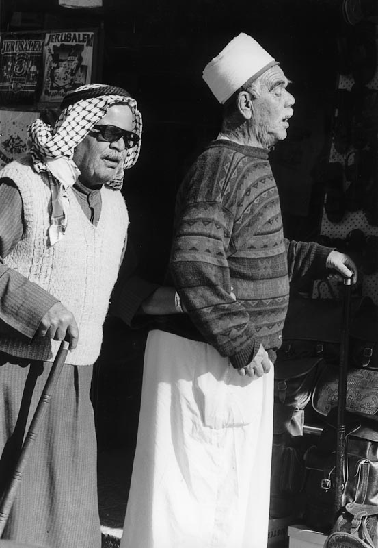 Blind Man, Jerusalem - Old City