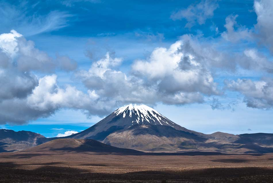 Mt Ngauruhoe, Tongariro National park, New Zealand