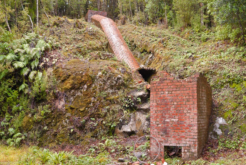 Tarawera Silver Mine and Smelter, Preservation Inlet, New Zealand