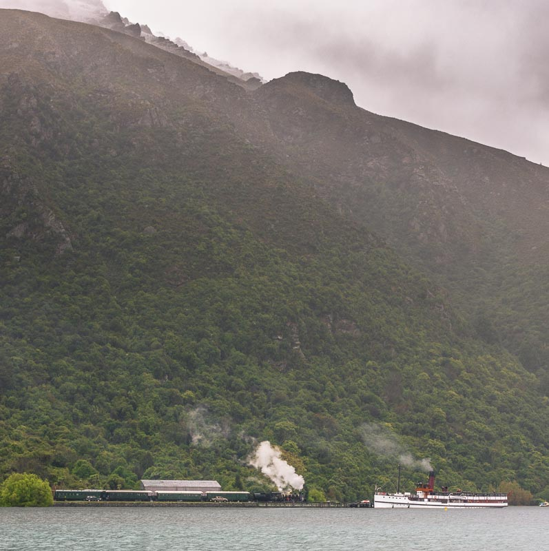 TSS Earnslaw celebrating 100 years & Kingston Flyer, New Zealand