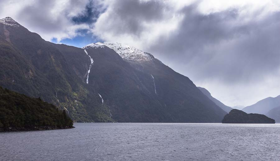 Browne Falls, Doubtful Sound, New Zealand