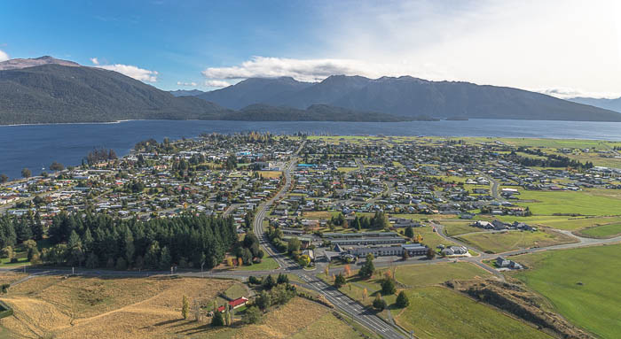 Scenic flight - Te Anau - commission photography