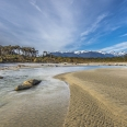 Awarua River estuary, Big Bay, Fiordland, New Zealand | photography