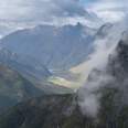Cascade Saddle, view of Matukituki Valley | photography