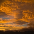 Red sky over Mt Luxmore, Te Anau, Fiordland | photography