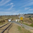 Road and rail track to Pukerangi, Taieri Gorge Railway | photography