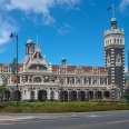 Dunedin Railway Station, Dunedin, New Zealand | photography