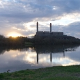 Huntly Power Station and Waikato River, New Zealand | photography