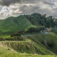 Forgotten World Highway from Nevins Lookout, New Zealand | photography