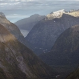 Gertrude Saddle in morning twilight, Milford Road, Fiordland | photography