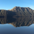 Green Lake - reflection, Fiordland, New Zealand | photography
