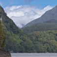 Lake Manapouri, lush rainforest, Fiordland, New Zealand | photography