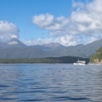 Lake Manapouri, view of Mt Titiroa, Fiordland, New Zealand | photography