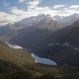 Lake McKellar and McKellar Saddle, Fiordland, New Zealand | photography