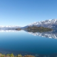 Lake Wakatipu with Pigeon Island, New Zealand | photography