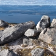 Tors on a nameless ridge, Murchison Mts, New Zealand | photography