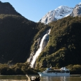 Lady Bowen Falls, Milford Sound, New Zealand | photography