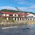 Lagoon and Rowing Club, Wellington, New Zealand | photography