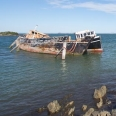 Ship graveyard, Greenpoint, Bluff Harbour, New Zealand | photography