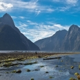 Milford Sound from Freshwater Basin, Fiordland, New Zealand | photography