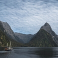 Milford Wanderer and Mitre Peak, Milford Sound, New Zealand | photography
