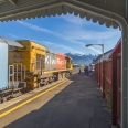 Kaikoura railway station, Whale Watch, New Zealand | photography