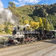 Kingston Flyer at Kingston railway station, New Zealand | photography