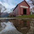 Reflection of Glenorchy Boat Shed, New Zealand | photography