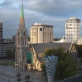 View of ChristChurch Cathedral and Cathedral Square | photography