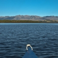Takitimu Mountains from Lake Manapouri, New Zealand | photography