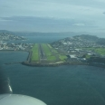 Landing on Wellington, international airport, New Zealand | photography