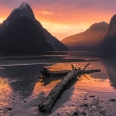 Milford Sound at dusk, Fiordland, New Zealand | photography
