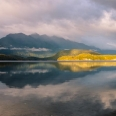 Sunrise, Lake Manapouri, Fiordland, New Zealand | photography