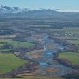 Taktimu Mts and Oreti River from Lintley Hill, New Zealand | photography