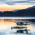 Evening twilight over Lake Te Anau and Mt Titiroa, New Zealand | photography